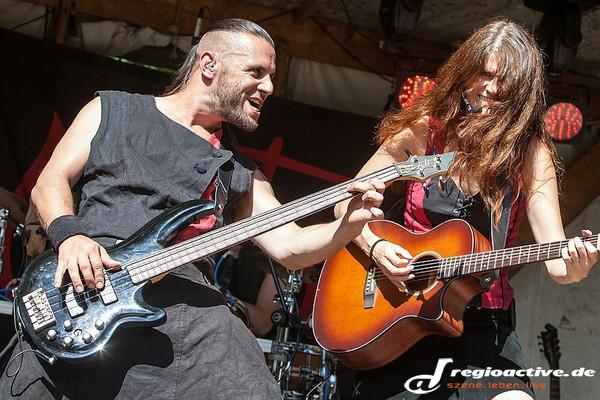 Folk'n'Rock - Fotos: Metusa live beim Spectaculum 2014 in Speyer