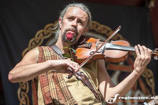 Im Namen der Rose - Fotos: Rapalje live beim Spectaculum in Speyer 2014