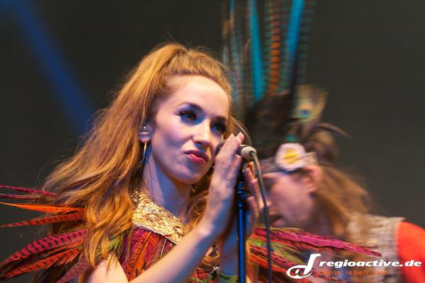 Namensvielfalt - Fotos: Crystal Fighters live auf dem Berlin Festival 2014