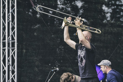 Spannender Mix - Fotos: The Bandgeek Mafia live beim Soundgarden Festival 2014